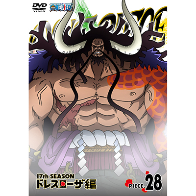 ONE PIECE ワンピース 17THシーズン ドレスローザ編 piece.28(DVD)
