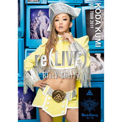 KODA KUMI LIVE TOUR 2019 re(LIVE) -Black Cherry-(DVD2枚組)