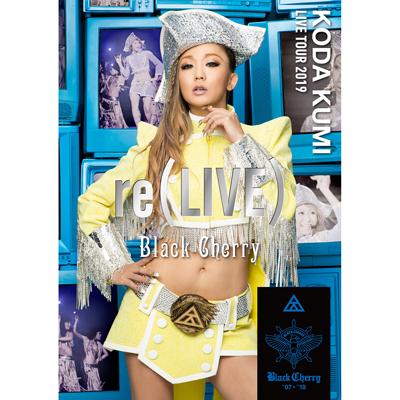 KODA KUMI LIVE TOUR 2019 re(LIVE) -Black Cherry-(DVD2枚組)
