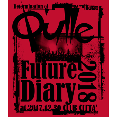 Determination of Q'ulle「Future Diary 2018」 at 2017.12.30 CLUB CITTA'(Blu-ray)