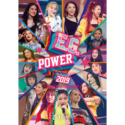 E.G.POWER 2019 ~POWER to the DOME~【通常盤】(3枚組Blu-ray)