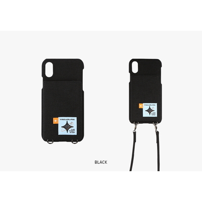 [I LOVE YOU] TREASURE CARD PHONECASE BLACK