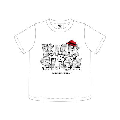 K&S COMIC T/S LOGO KIDS_WHITE