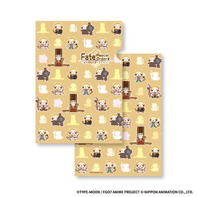 Fate/Rascal Order-絶対魔獣洗線アライグマ- A4クリアファイル