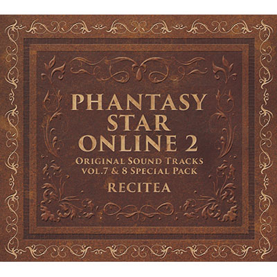 ファンタシースターオンライン2 オリジナルサウンドトラック Vol.7&8 豪華セット(6枚組CD)