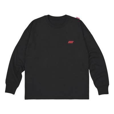 ロングスリーブTシャツ(BLACK/L)