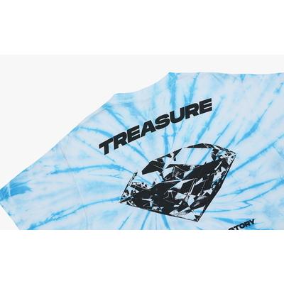 [TREASURE MAP] TREASURE T-SHIRTS TYPE 1 TIE DYE L