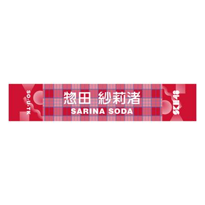 24惣田紗莉渚 メンバー別マフラータオル