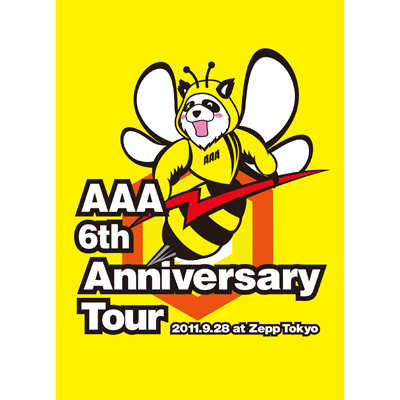 AAA 6th Anniversary Tour 2011.9.28 at Zepp Tokyo