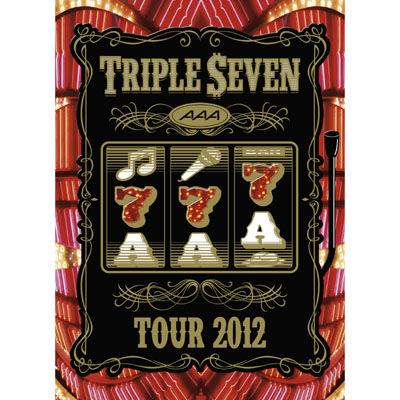 AAA TOUR 2012 -777- TRIPLE SEVEN【DVD2枚組】