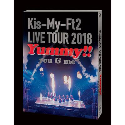 LIVE TOUR 2018 Yummy!! you&me【DVD通常盤】(DVD2枚組)