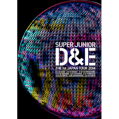 SUPER JUNIOR D&E THE 1st JAPAN TOUR 2014【通常盤】(DVD)
