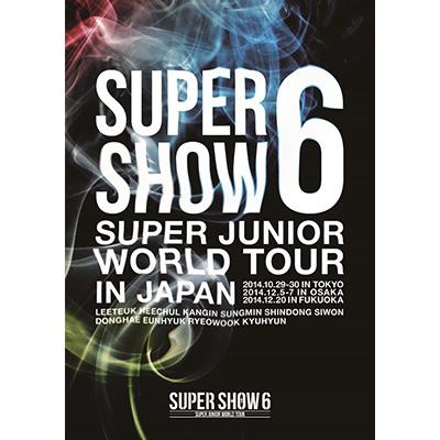 SUPER JUNIOR WORLD TOUR SUPER SHOW6 in JAPAN【通常盤】(DVD2枚組)