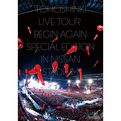 東方神起 LIVE TOUR ~Begin Again~ Special Edition in NISSAN STADIUM(3枚組DVD)(スマプラ対応)