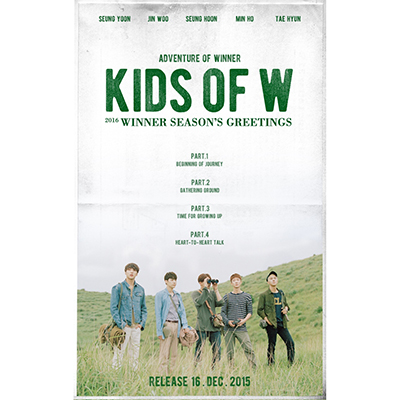 2016 WINNER SEASON'S GREETINGS[KIDS OF W]