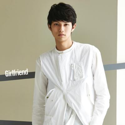 Girlfriend [CDのみ](ジャケット写真:中山優貴)※mu-moショップ・イベント会場限定盤