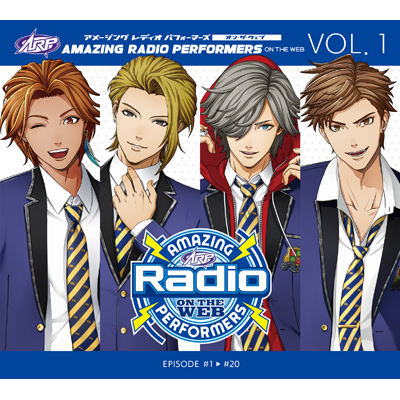 Amazing Radio Performers on the WEB vol.1(CD)