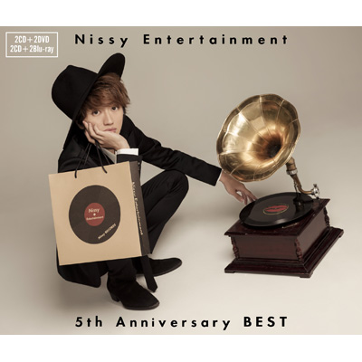 Nissy Entertainment 5th Anniversary BEST(2枚組CD+2枚組Blu-ray)