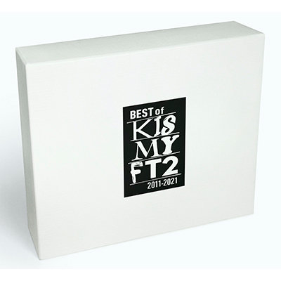 【Blu-ray付 通常盤】BEST of Kis-My-Ft2(2CD+Blu-ray)