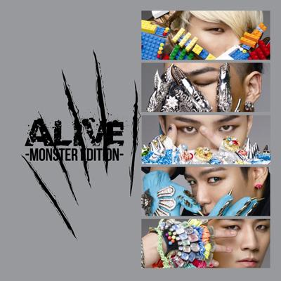 ALIVE -MONSTER EDITION-(CD)