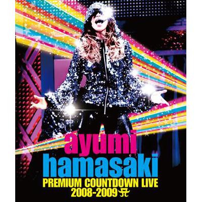 ayumi hamasaki PREMIUM COUNTDOWN LIVE 2008-2009 A(ロゴ)【Blu-ray】