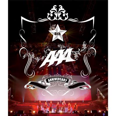 【Blu-ray】AAA 5th Anniversary LIVE 20100912 at Yokohama Arena
