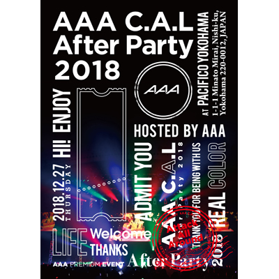 AAA C.A.L After Party 2018(Blu-ray+スマプラ)