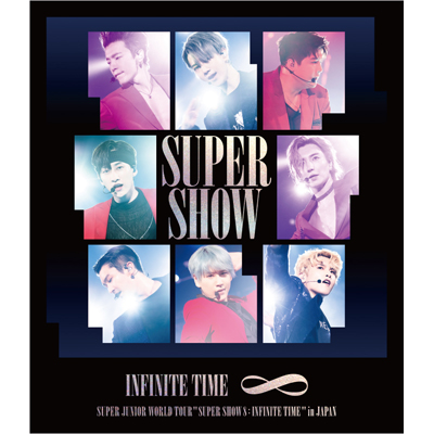 SUPER JUNIOR WORLD TOUR  ''SUPER SHOW 8: INFINITE TIME '' in JAPAN(Blu-ray Disc+スマプラ)