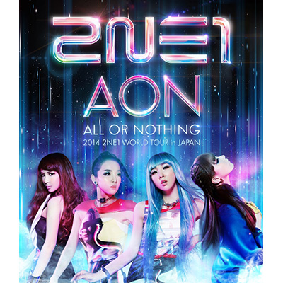 2014 2NE1 WORLD TOUR ~ALL OR NOTHING~ in Japan(Blu-ray)