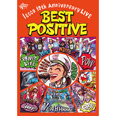lecca 10th Anniversary LIVE BEST POSITIVE(DVD2枚組+スマプラ)