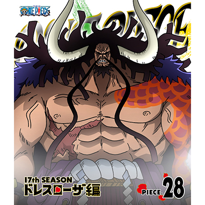 ONE PIECE ワンピース 17THシーズン ドレスローザ編 piece.28(Blu-ray)