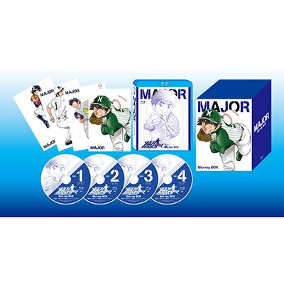 メジャー Blu-ray BOX(4枚組Blu-ray)