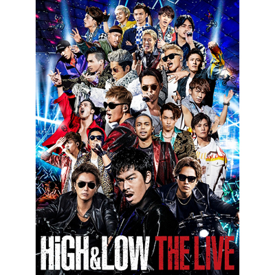HiGH & LOW THE LIVE(3DVD+スマプラ)【初回生産限定盤】