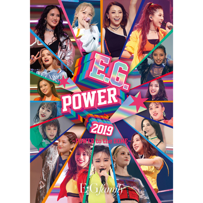 E.G.POWER 2019 ~POWER to the DOME~【初回生産限定盤】(3枚組DVD)