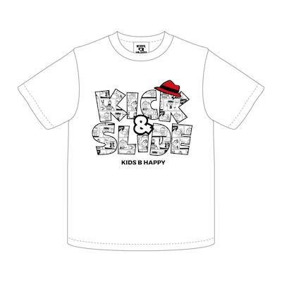 K&S COMIC T/S LOGO_WHITE