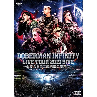 DOBERMAN INFINITY LIVE TOUR 2019 「5IVE ~必ず会おうこの約束の場所で~」【通常盤】(2枚組DVD)