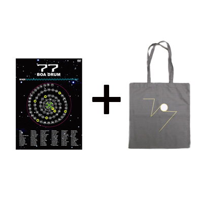 【commmonsmart限定セット】『77 BOADRUM -the movie-』+「77 BOADRUM BAG(グレー)」