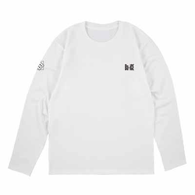 ロングスリーブTシャツ_ホワイト_M