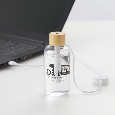 クリアボトルコンパクト加湿器