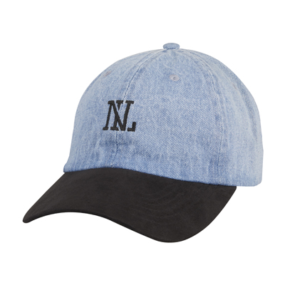 NL LOW CAP DENIM SUEDE