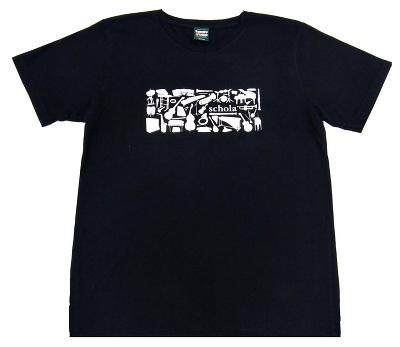 commmons: schola T-shirtsブラック (M)
