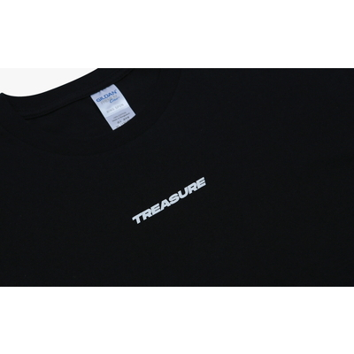 [TREASURE MAP] TREASURE T-SHIRTS TYPE 1 BLACK M
