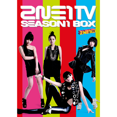 2NE1 TV SEASON1 BOX