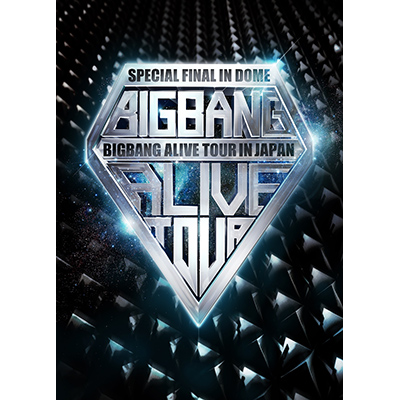 BIGBANG ALIVE TOUR 2012 IN JAPAN SPECIAL FINAL IN DOME -TOKYO DOME 2012.12.05-(2枚組DVD)