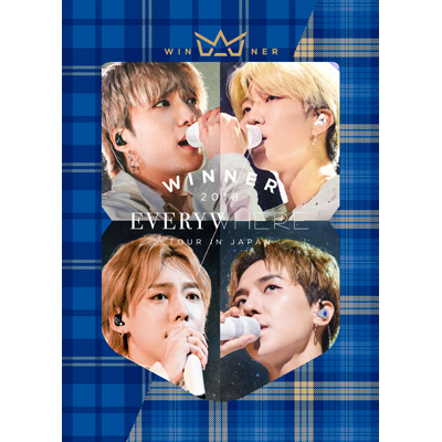 WINNER 2018 EVERYWHERE TOUR IN JAPAN (4DVD+2CD+PHOTOBOOK+スマプラ)