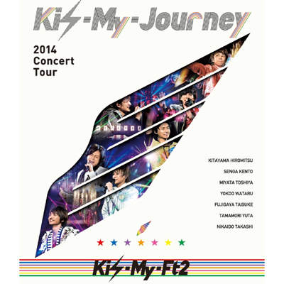 2014Concert Tour Kis-My-Journey(2枚組Blu-ray)