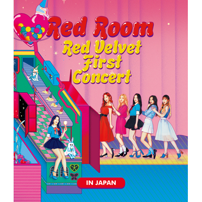 "Red Velvet 1st Concert ""Red Room"" in JAPAN 【Blu-ray Disc】"