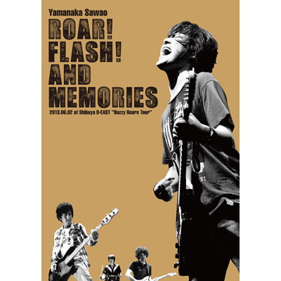 "ROAR! FLASH! AND MEMORIES 2013.06.02 at Shibuya O-EAST ""Buzzy Roars Tour""【2枚組DVD】"