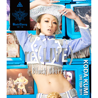KODA KUMI LIVE TOUR 2019 re(LIVE) -Black Cherry-(Blu-ray)