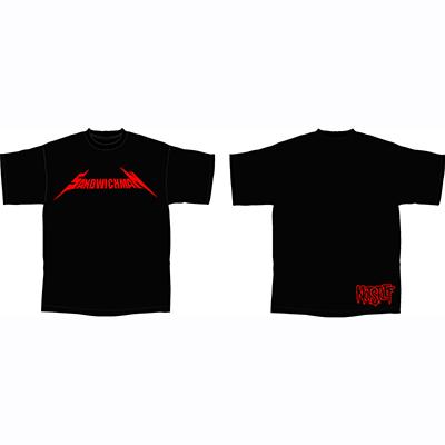 サンドウィッチマン ノットスタッフ Tシャツ 赤